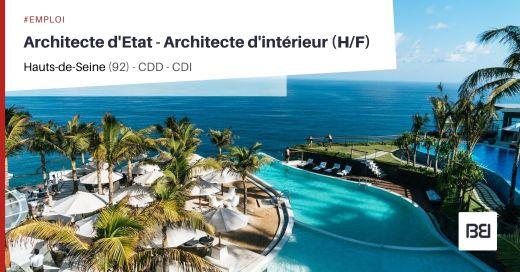 ARCHITECTE D'ETAT - ARCHITECTE D'INTÉRIEUR