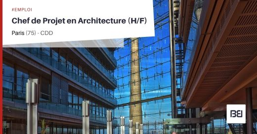 CHEF DE PROJET EN ARCHITECTURE