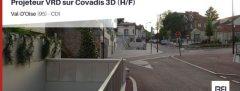 PROJETEUR VRD SUR COVADIS 3Dv