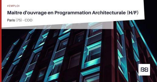 MAÎTRE D'OUVRAGE EN PROGRAMMATION ARCHITECTURALE