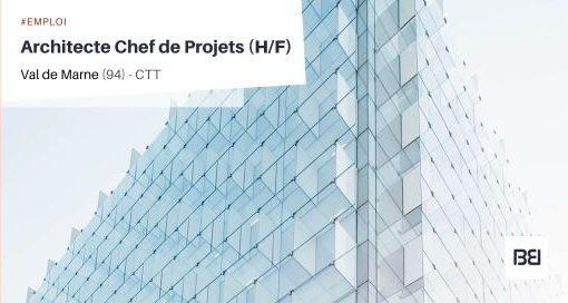 ARCHITECTE CHEF DE PROJETS