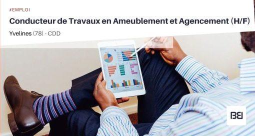 CONDUCTEUR DE TRAVAUX EN AMEUBLEMENT ET AGENCEMENT