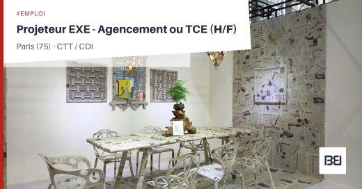 PROJETEUR EXE - AGENCEMENT OU TCE