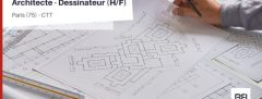 ARCHITECTE - DESSINATEUR