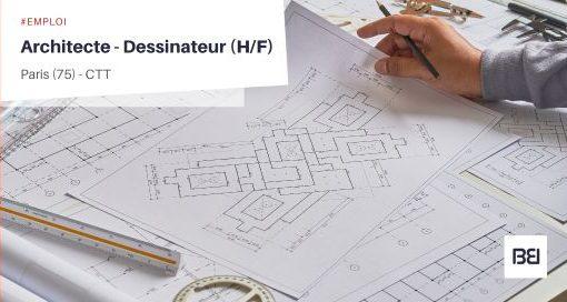 ARCHITECTE - DESSINATEUR