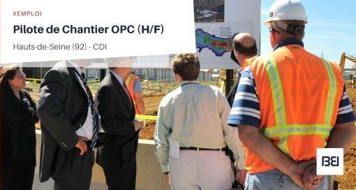 PILOTE DE CHANTIER OPC