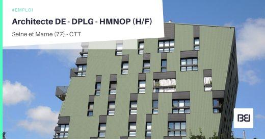 ARCHITECTE DE - DPLG - HMNOP