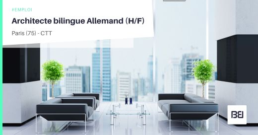 ARCHITECTE BILINGUE ALLEMAND