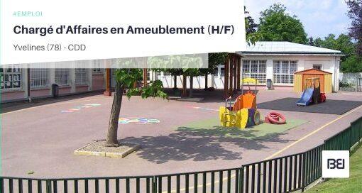 CHARGÉ D'AFFAIRES EN AMEUBLEMENT