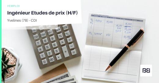 INGÉNIEUR ETUDES DE PRIX