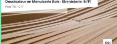 DESSINATEUR EN MENUISERIE BOIS - EBENISTERIE