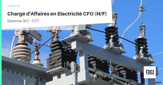 CHARGÉ D'AFFAIRES EN ELECTRICITÉ CFO