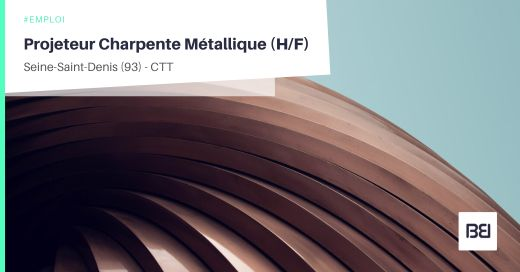 PROJETEUR CHARPENTE METALLIQUE