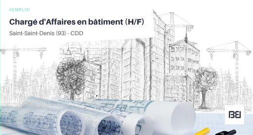 CHARGÉ D'AFFAIRES EN BÂTIMENT