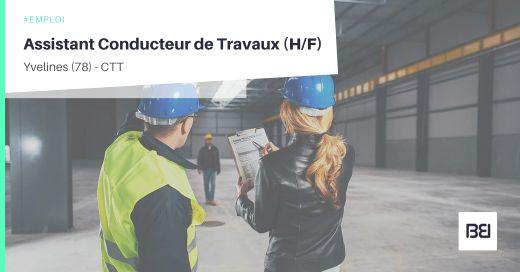 ASSISTANT CONDUCTEUR DE TRAVAUX