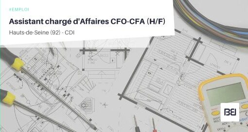 ASSISTANT CHARGÉ D'AFFAIRES CFO-CFA