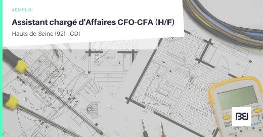 ASSISTANT CHARGÉ D'AFFAIRES CFO-CFA