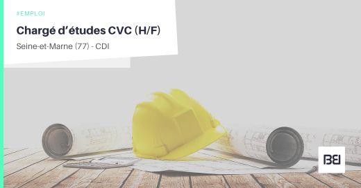 CHARGÉ D'ÉTUDES CVC