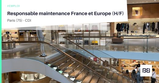 RESPONSABLE MAINTENANCE FRANCE ET EUROPE