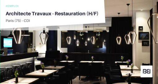 ARCHITECTE TRAVAUX - RESTAURATION