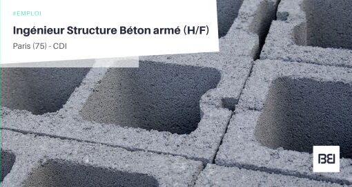 INGÉNIEUR STRUCTURE BETON ARMÉ
