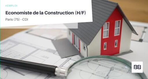 ECONOMISTE DE LA CONSTRUCTION