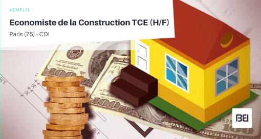 ECONOMISTE DE LA CONSTRUCTION TCE