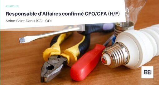 RESPONSABLE D'AFFAIRES CONFIRMÉ CFO/CFA