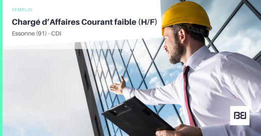 CHARGÉ D'AFFAIRES COURANT FAIBLE