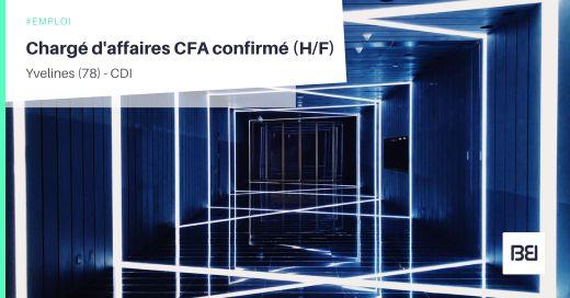 CHARGÉ D'AFFAIRES CFA CONFIRMÉ