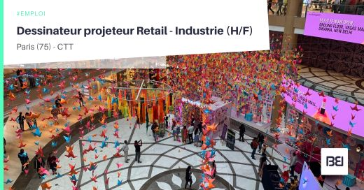 DESSINATEUR PROJETEUR RETAIL - INDUSTRIE