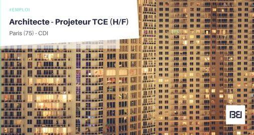 ARCHITECTE - PROJETEUR TCE
