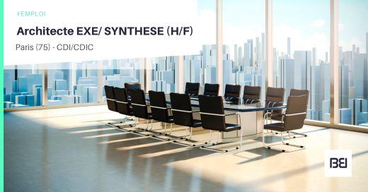 ARCHITECTE EXE/ SYNTHESE