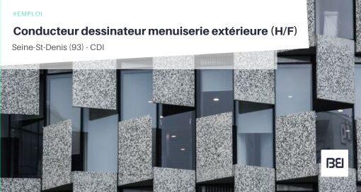 CONDUCTEUR DESSINATEUR MENUISERIE EXTÉRIEURE