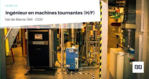 INGÉNIEUR EN MACHINES TOURNANTES
