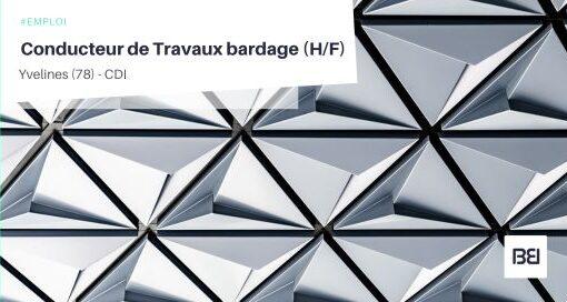 CONDUCTEUR DE TRAVAUX BARDAGE