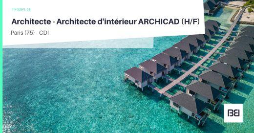 ARCHITECTE - ARCHITECTE D'INTÉRIEUR ARCHICAD