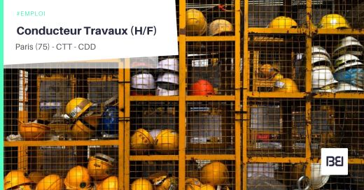 CONDUCTEUR TRAVAUX