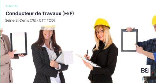 CONDUCTEUR DE TRAVAUX