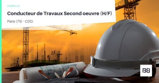 CONDUCTEUR DE TRAVAUX SECOND OEUVRE