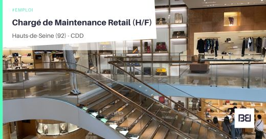 CHARGÉ DE MAINTENANCE RETAIL