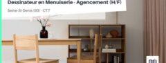 DESSINATEUR EN MENUISERIE - AGENCEMENT