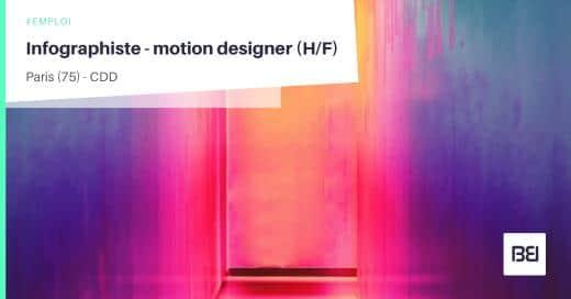 INFOGRAPHISTE - MOTION DESIGNER