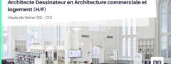 ARCHITECTE DESSINATEUR EN ARCHITECTURE COMMERCIALE ET LOGEMENT