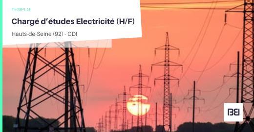 CHARGÉ D'ÉTUDES ELECTRICITÉ
