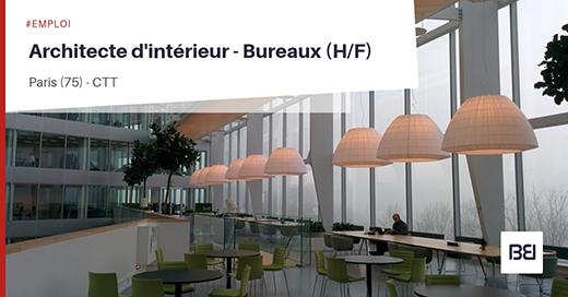 Architecte d'intérieur - Bureaux
