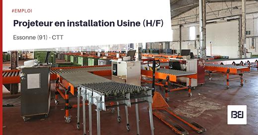 Offre d 39 emploi projeteur en installation usine bureau d 39 tude interim - Offre d emploi bureau d etude ...