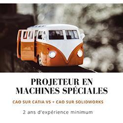 Projeteur en machines spéciales