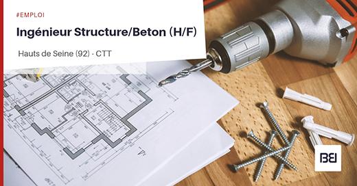 Ingénieur Structure-Beton