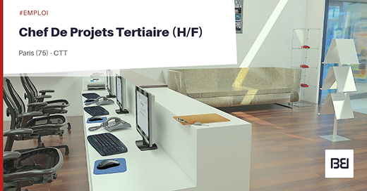 CHEF DE PROJETS TERTIAIRE